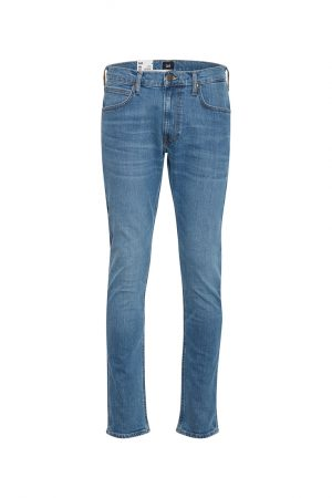 Lee Luke Slim Tapered Herrjeans - Lt Worn Foam