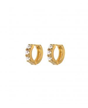 Hultquist Isadora Earrings - Guld
