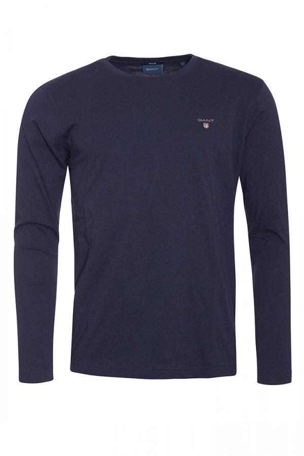 Gant The Original Long Sleeve T-Shirt - Evening Blue