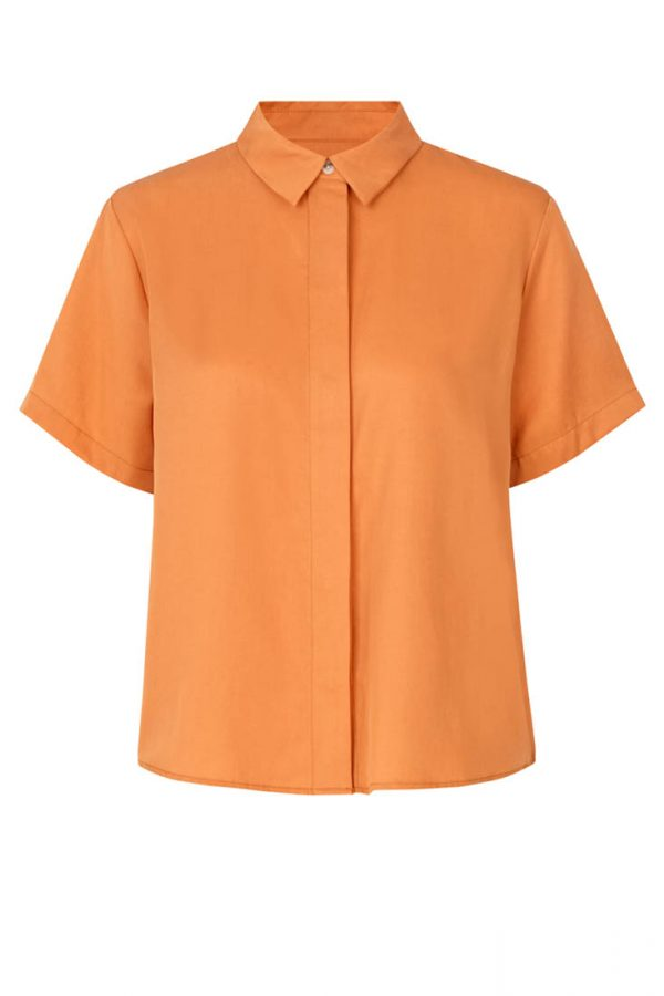 Samsøe & Samsøe Mina Shirt - Golden Ochre