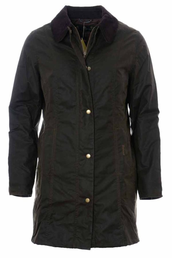 Barbour Belsay Wax Jacket - Olive