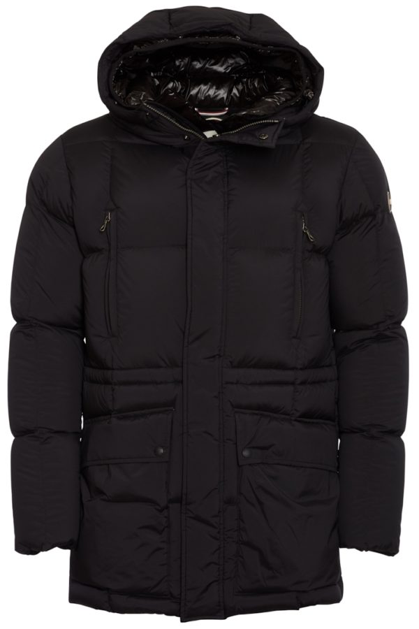 Colmar Mens Down Jacket Long Stretch - Svart