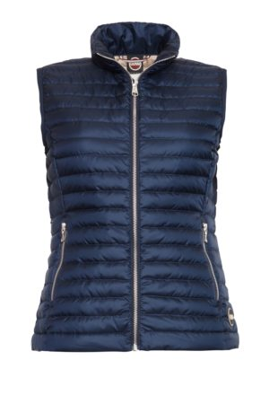 Colmar Ladies Down Vest - Marinblå