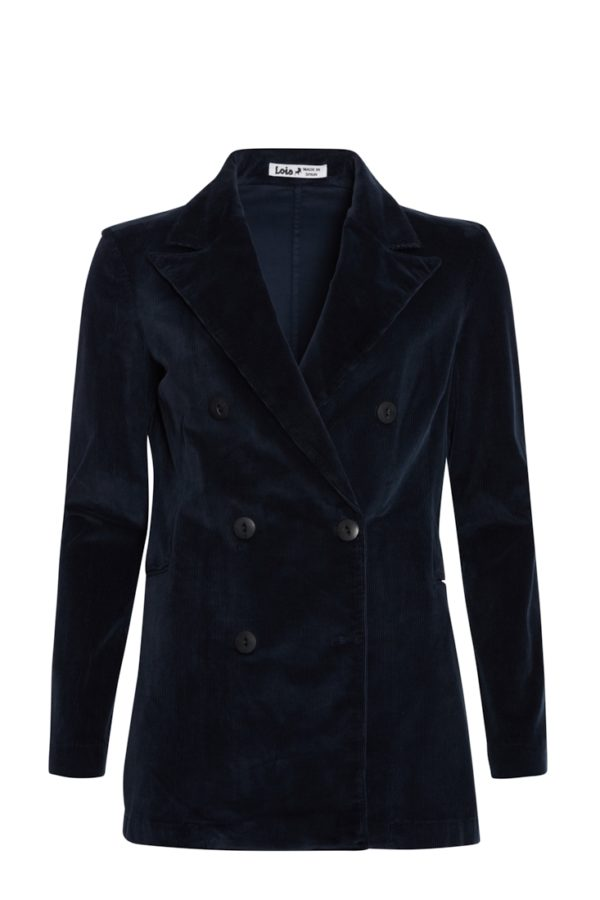 Lois Blazer Bright Cord Soul Marion