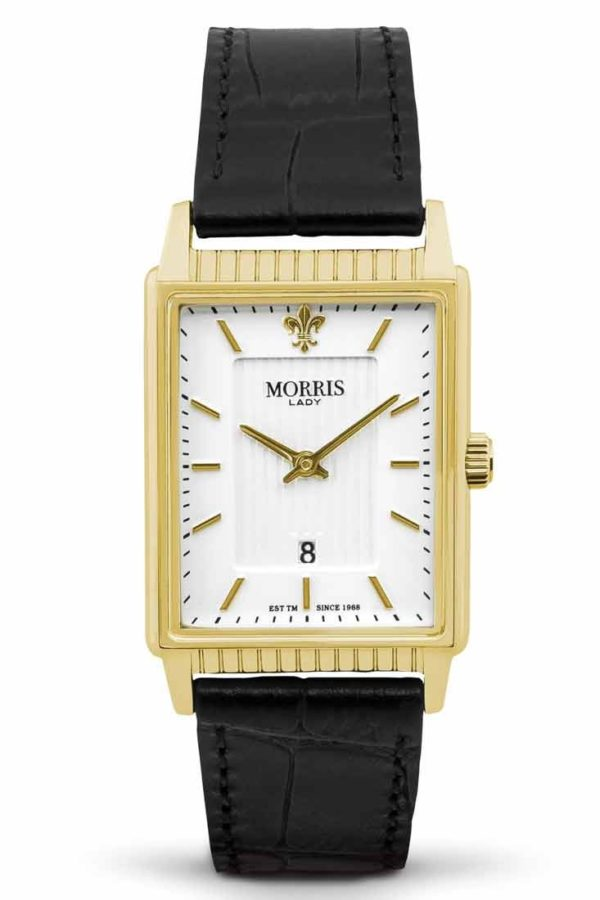 Morris Lady Kate IPG Silver Strap