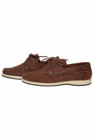 Dubarry Sailmaker X LT Deck Shoes - Chestnut