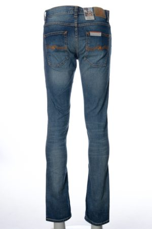 Nudie Jeans Grim Tim Worn in Broken Jeans